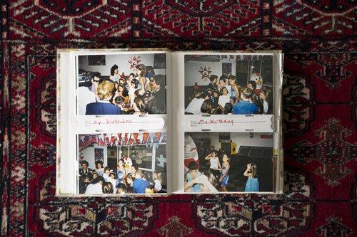 Diana and Souad's family photo album